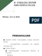 Anatomi - Physiologi Sistem Bilier Dan Vesica Fellea