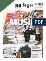 Musik - Ausgabe 26-2015 strassenfeger