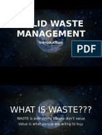 Solid Waste Management