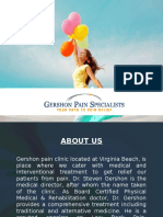 Gershon Pain Specialists