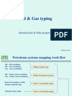 Oil an Gas Typing