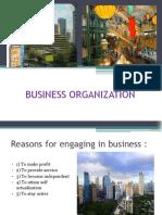 Business Organization 1