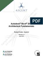 Revit Arch Fund 2016 IMP-ToC