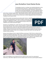 Salkantay Trek Huayna PicchuPeru Travel Machu Picchu