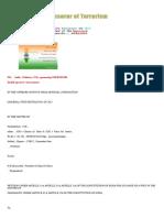 PIL - India Sponsoror of TERRORISM
