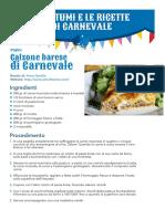 Carnevale_ricette Di Barilla Picollini 2013