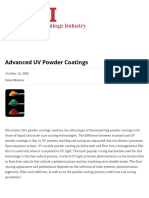 Advanced UV Powder Coatings oct 2006