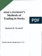 Jesse Livermore Methods