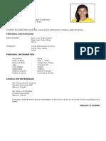 Abegail Resume