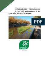 Memoria del Plan río Manzanares