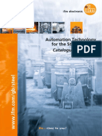 Automation Technology for the Steel Industry Catalogue 2015/2016