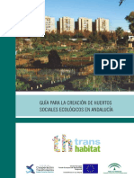 Huertos Sociales Ecologicos Andalucia 2014
