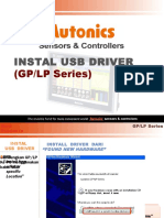 USB Installation for GPLP