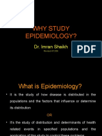 Why Study Epidemiology.ppt