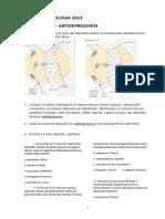 Antidepressivos Roteiro Seminario PSICOFARMACOLOGIA 2013