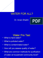 Water for Allf