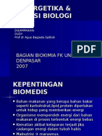 Bioenergetika & Oksidasi Biologi