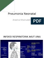 Pneumonia Neonatal