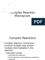 Complex Reaction Mechanism