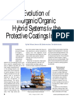 Evolution of Inorganic Organic Hybrid Systems for the Protective Coatings Industry