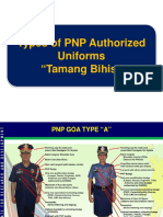 Types of Pnp Authorized Uniforms Tamang Bihis