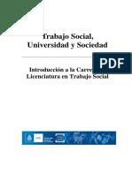 Cuadernillo Teorico  de Trabajo Social Universidad Nacional de Córdoba Argentina