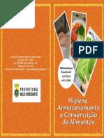 Cartilha Higiene e Conservacao Dos Alimentos