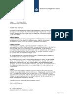 Brief Van de Staatssecretaris Aan Asielzoekers (1)