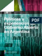 Politicas y Experiencias de Gobierno Abierto en Argentina