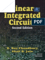 Linear Integrated Circuits by D.roy Chowdary
