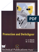 Protection and Switchgear by Bakshi