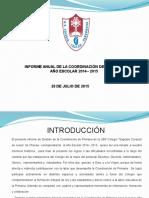 Presentacion Informe Coordinación 2