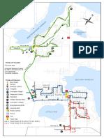 Midland Penetanguishene Transit route map
