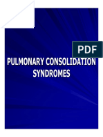 15. Pulmonary Consolidation Syndromes