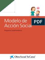CaixaProinfancia Modelo Accion Social Es