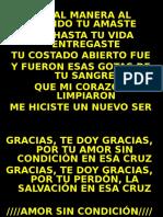 Amor sin condición.ppt