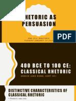 Rhetorical Theory, Chapter 2
