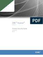 EMC Avamar 7.1 Product Security Guide