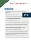 Acc 403 Quiz 8 Chapters 16-17