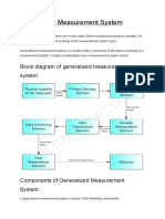 Generalized Measurement System