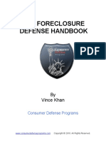 Foreclosure Defense Handbook