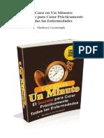 el libro la cura en un minuto