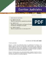 Escritos Judiciales Tecnica