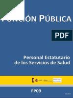 Sumario FP09 Personal Estatutario de Los Servicios de Salud