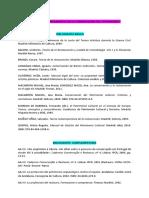 Bibliografía básica de conceptos de restauración