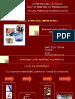 Empresa como Realidad Economica