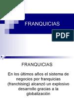 FRANQUICIAS 2013