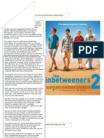 Task 3- Representation of Teenagers in Film Promotional Material