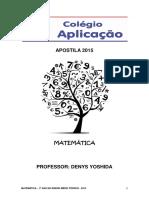 1 Ano Matematica