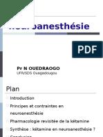 Ketamine Et Neuroanesthésie SARANF 2014 on Relu GM